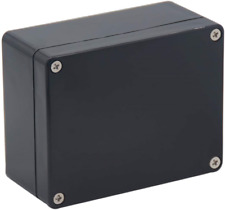 New Listingraculety Project Box Ip65 Waterproof Junction Box Abs Plastic Black Electrical X