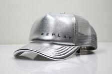 Replay Accessories Trucker Cap Basecap Mütze One Sitz Fits All silber,