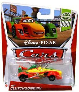 Disney Pixar Cars WGP Rip Clutchgoneski #8/17 Imperfect  DENTED BLISTER Stk L