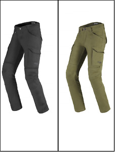 Spidi Pathfinder Cargo Motorcycle Bike CE Textile Slim Fit Trousers Pants