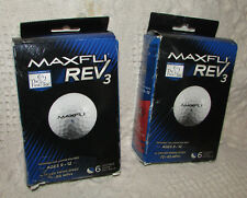 Maxfli Rev 3 Junior Golf Balls 2 Boxes=5 Balls For Juniors Age 9-12/70-85 Mph