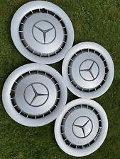 "Original Mercedes Wheel Trims 15"" Set Of 4. W126 W123"
