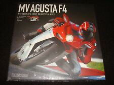 MV AGUSTA F4 THE WORLD'S MOST BEAUTIFUL BIKE OTTO GRIZZI 2011 H/B NEW & WRAPPED