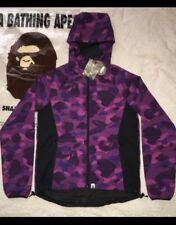 1d7b8b08 A Bathing Ape Bape Purple Camo Jacket Size M 100% Nylon New w/ tag