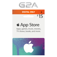iTunes Gift Card £15 GBP Key - 15 Pound UK Apple Store Code for iPhone iPad Mac