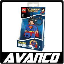 LEGO Super Heroes Superman Super Man Key Light LED 5002913 BRAND NEW RETIRED