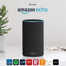 Amazon Echo (2nd Generation) Smart Assistant - Charcoal Black