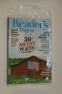 READER'S DIGEST MAGAZINE NOVEMBER 2019 50 NICEST PLACES IN AMERICA