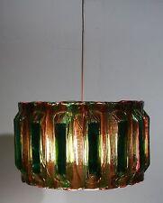 Plexiglas agryl verre éthérée Designer Lampe Plafonnier Lampe Luminaire ~ 70er