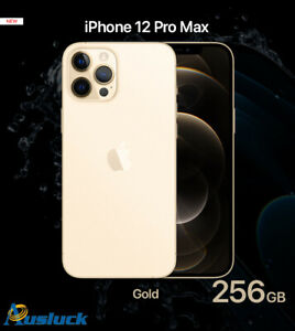 "APPLE iPHONE 12 PRO MAX 256GB GOLD MGDE3X/A BRAND NEW ""AUSLUCK"""