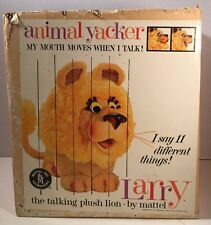 Mattel Larry Lion Animal Yacker Empty Box  (BOX ONLY)