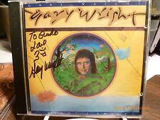 """SIGNED/INSCRIBED--GARY WRIGHT CD--""""THE LIGHT OF SMILES"""" RARE Import from Germany"""