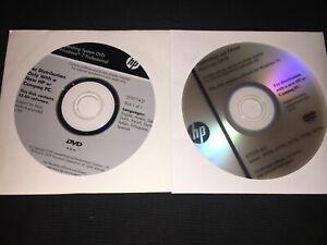 HP 2540 2560 2760 6470b 6570b 8470p 8570p 8470p Application Driver Recovery CD
