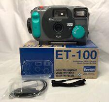 Epoque ET-100 Plus 45m Waterproof Underwater Camera Made In Japan Vintage NIB