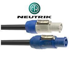 Neutrik Secteur Avec Fiches PowerConA (Entrée) vers PowerConB Sortie 3 Métres