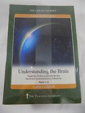 The Great Courses Understanding the Brain Parts 1-3 + Guidebook New Sealed