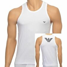 Cotton Blend Graphic Stretch Sleeveless T-Shirts for Men