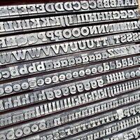 36p fette MEMPHIS Bleisatz Buchdruck Handsatz Letterpress Type Bleilettern Druck