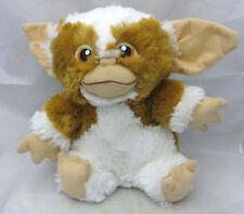 """Gremlins GIZMO 10"""" plush Tan White 2014 Warner Brothers Toy Factory Halloween"""
