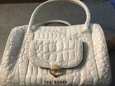 Ladies Ted Baker Bag White Mock Croc Leather - used