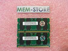 8GB 2x4GB SODIMM DDR2-800 Memory Dell Inspiron 1525 1525se 1526 1626se upgrade