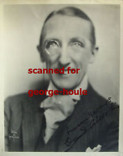 CLAUD ALLISTER - PHOTO - VTG - INSCRIBED - WITZEL - NORMA SHEARER - MONOCLE