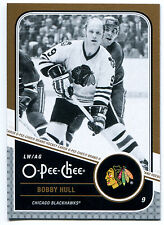 2011-12 O-Pee-Chee BOBBY HULL Gold Marquee Legends #L4 Rare SP HOF OPC High BV