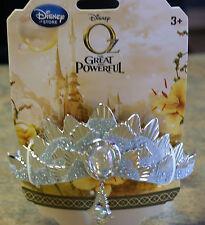 New Disney Store GLINDA Good Witch OZ Costume Crown Tiara
