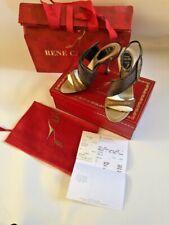 £750 Authentic Rene Caovilla High Heel Sandals, Open toe Shoes, Size 36, UK 3