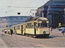 """*Postcard-""""Electric Trolley/Motor Car/Trailer"""""""