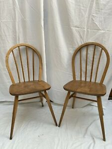 Two Vintage Ercol Chairs