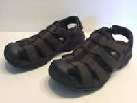 Sketchers Men's Closed Toe Sandals Shoes Size 10 Conner Brown Outdoor Fisherman