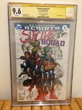 Suicide Squad # 1 CGC 9.6 Special Convention Edition ~ Signed JIM LEE