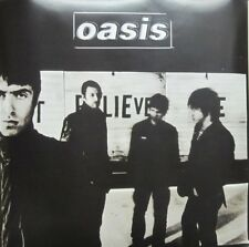 Oasis 2005 Don't Believe The Truth 2 sided promo poster Flawless New Old Stock