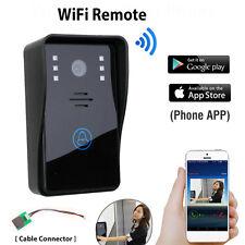 Smart Wireless WiFi Video Door Phone Doorbell Visual Intercom for IOS Android