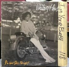 """WHITNEY HOUSTON I'M YOUR BABY TONIGHT 12"""" 1990 ARISTA 2120"""
