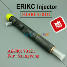 ERIKC Diesel Injector EJBR04501D A6640170121 For Delphi Ssangyong Actyon Kyron