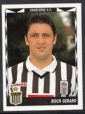 Panini belgique football 1999 sticker-nº 106-charleroi-roch gerard