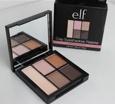 ELF Clay 5 Eyeshadow Palette Saturday Sunsets with Mirror Pink Gold Brown Nude
