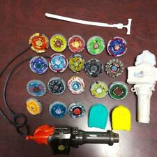 Takara Tomy Beyblade Huge Lot of 18 Rare with Launcher Metal Fight