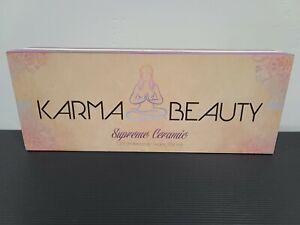 Karma Beauty Supreme Professional Ceramic Flat Iron-Brand New In Box