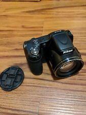 Nikon COOLPIX L820 16.0MP Digital Camera - Black *w/New Batteries*