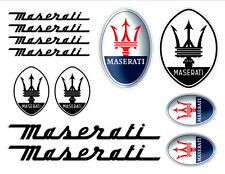 Maserati Decal set