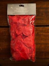 2 BAGS of 300 Red Silk Rose Petals