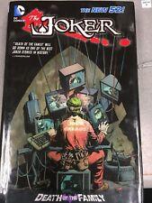 Joker: Death Of The Family Hardcover Batman Dc Comics Detective Robin Batgirl Hc