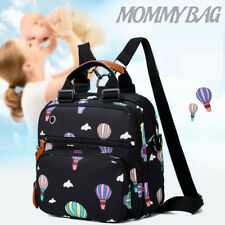 Large Capacity Mummy Maternity Baby Nappy Diaper Bag Waterproof Travel Backpack