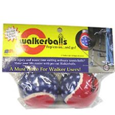 Patriotic Walker Balls Red, White - Blue 1 pair