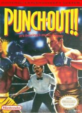 PUNCH OUT Classic Vintage Arcade Nintendo Atari Sega Poster 24x36 inch 1