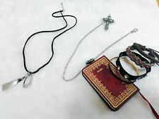Love and Producer Zhou QiLuo Kilo Necklace Brooch Bracelet Cos Prop Whole Set