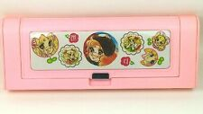 Vintage 1980s Candy Candy anime plastic magnetic pencil case, unused Korea #2